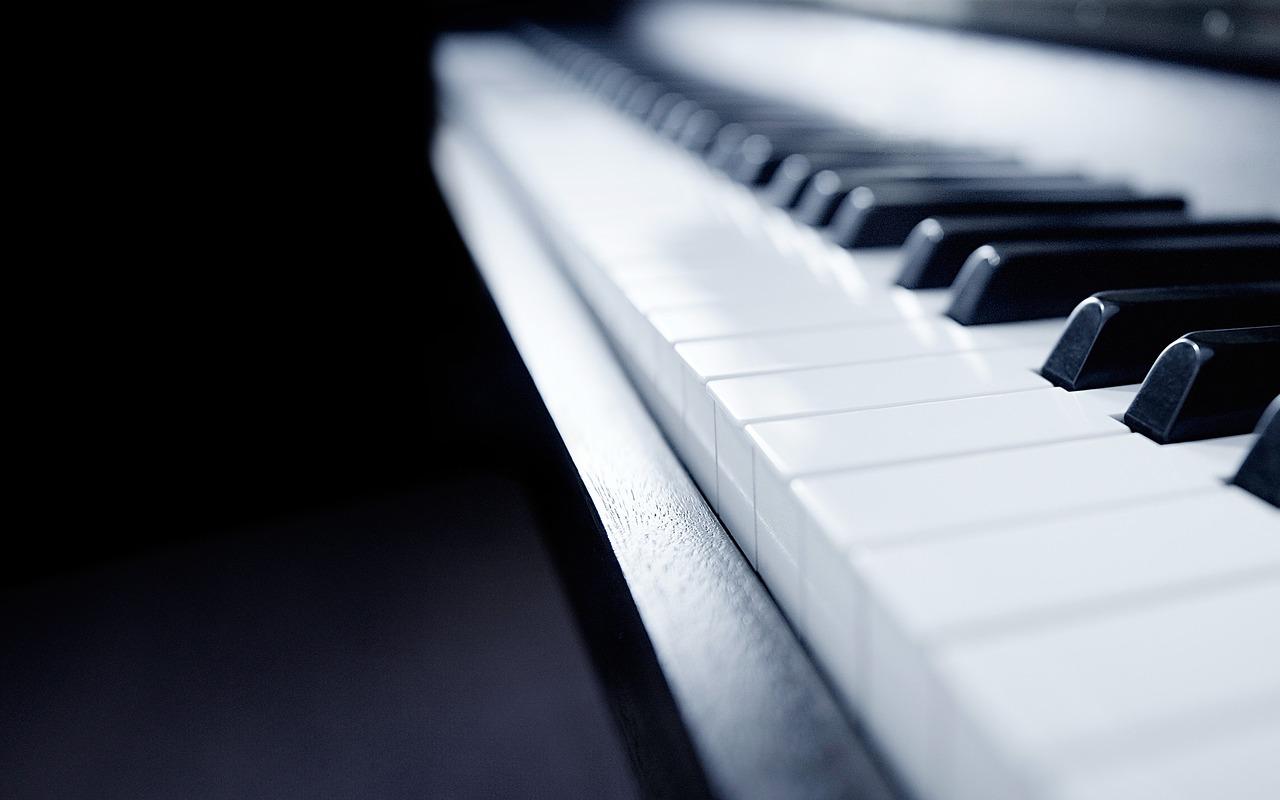 piano, music, still life